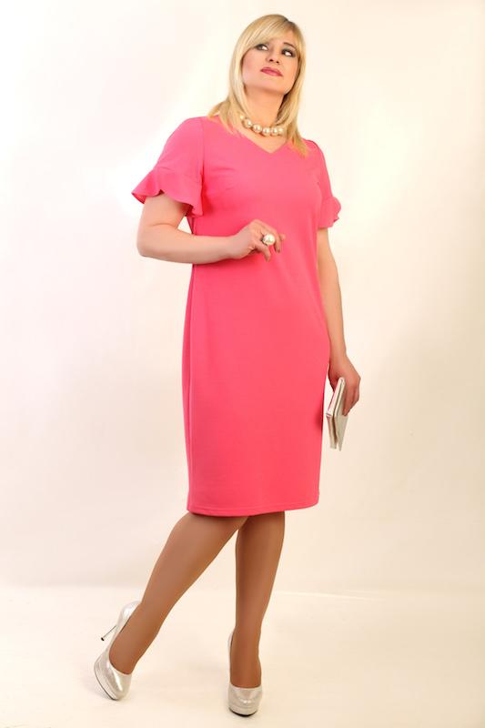 e5f9dc5ef2de38 Sukienka ELENA różowa – Oscarfashion