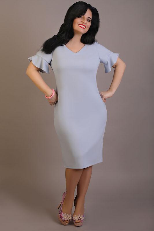 b78f1f22eefee7 Sukienka ELENA błękitna – Oscarfashion