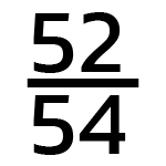 52/54