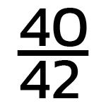 40/42