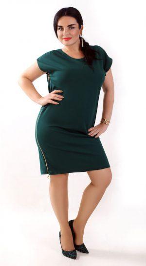 kobieta w sukience plus size
