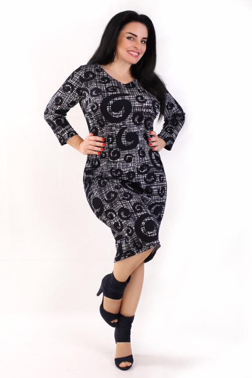 Sukienka koktajlowa plus size