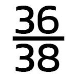 36/38