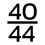 40/44