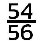 54/56